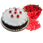 Blackforest with bouquet