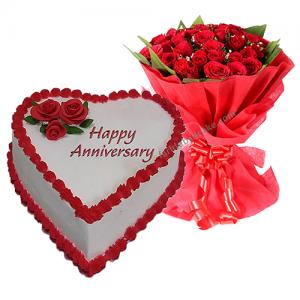 Happy Anniversary Cakes Online At Best Price Designs