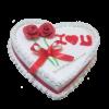 Heart Shaped Pineapple Cake