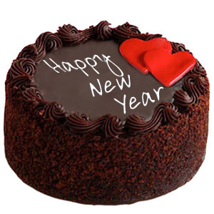 New Year Chocolate Truffle-online cake delivery in faridabad