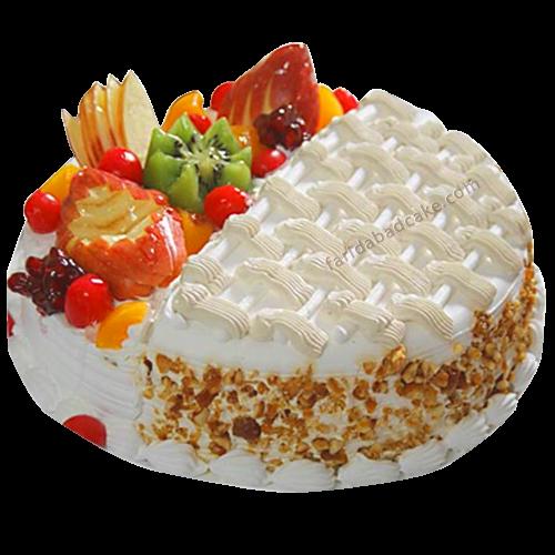 Fresh Fruit Cake-online cake delivery in faridabad