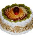 Butterscotch fruit cake
