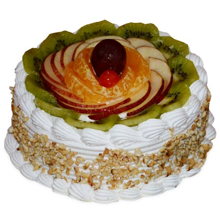 Butterscotch and Fruits Cake