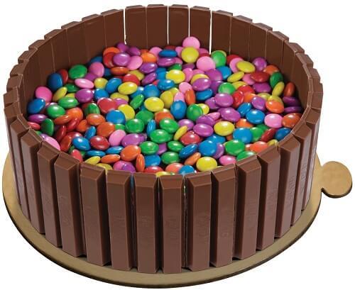 Kitkat Gems Cake Price 100 Eggless Amp Free Shipping 2 3 Hrs