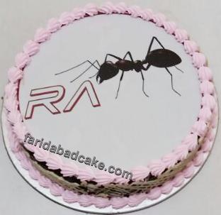 Ant Photo Cake