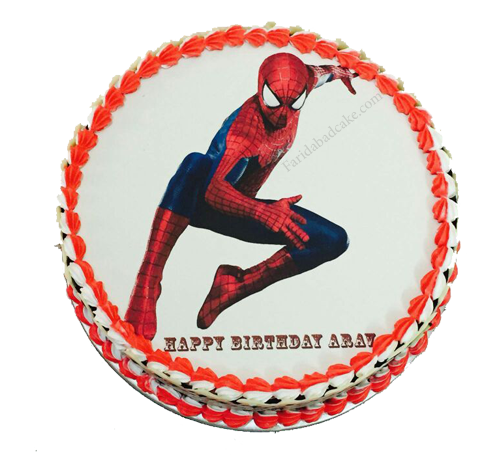 Spiderman cake-online cake delivery in faridabad