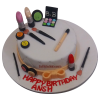 Bobbi brown makeup  cake
