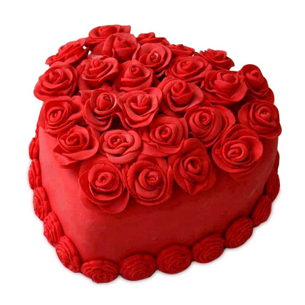 Heart Shaped Cakes delivery in faridabad