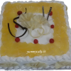 Pineapple cake delivery in Faridabad
