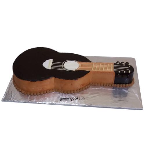 Customised Guitar Cake