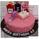 shopping bags cake