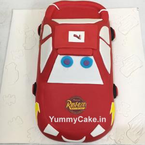 Birthday Car Cake
