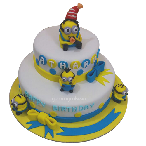 Minion Cake For Birthday At Low Price Best Design