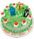 Jungle Book cake, Jungle Birthday Cake