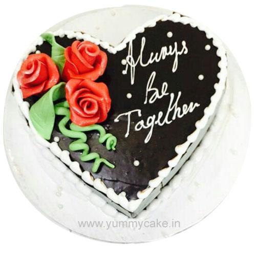 Buy Heart Shaped Birthday Cake In Faridabad Faridabadcake