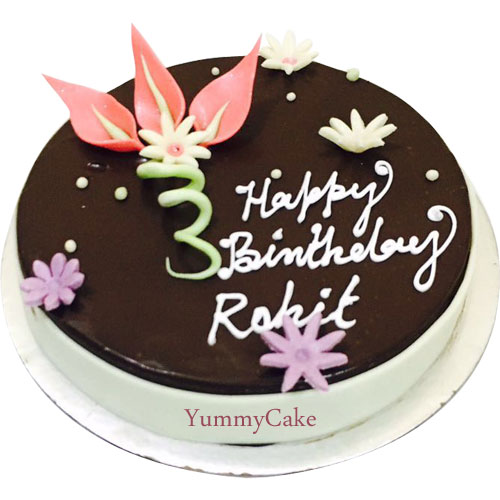 Birthday Chocolate Cake-online cake delivery in faridabad