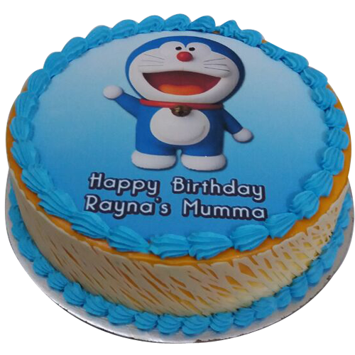 Super Doraemon Birthday Cake Design At Best Price Free Delivery Birthday Cards Printable Trancafe Filternl