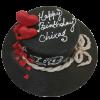 Fondant birthday cake online