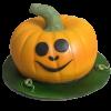 Pumpkin Theme birthday cake