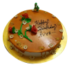 Butterscotch birthday cake