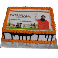 Happy Birthday Patanjali Cake