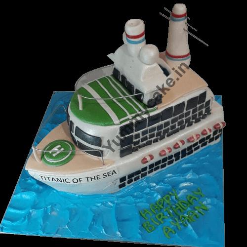 Customized Birthday Cake