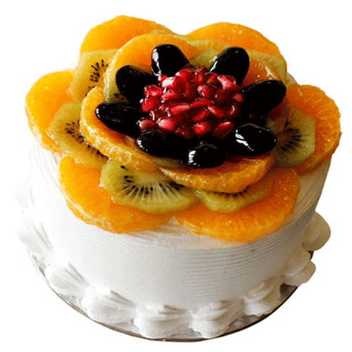 Outstanding Buy Fresh Fruit Birthday Cake In Faridabad At Best Price Personalised Birthday Cards Veneteletsinfo