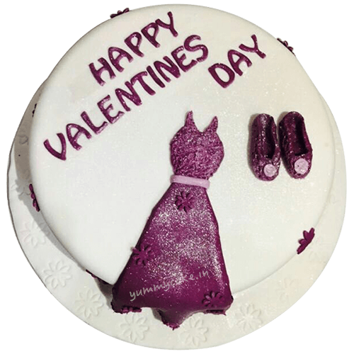 Send Valentine's Day Cake Online to Faridabad, Free Delivery