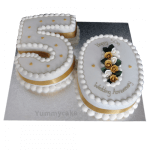 50th-anniversary-cakes-Yummycake