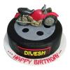 Bike Birthday Cake -Yummycake