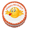 Emoji Birthday Cake