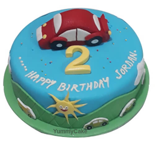 2nd Birthday Cake for Boy | Order Online at a Low Price