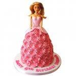 barbie-cake-design