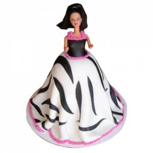 Best Barbie Doll Cake
