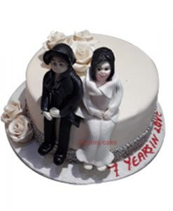 Marriage Anniversary Cake