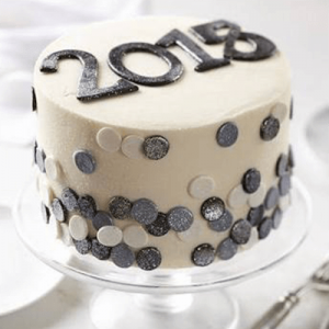 Online New Year Cake
