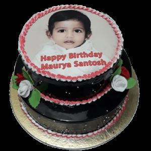 5 Kg Birthday Photo Cake