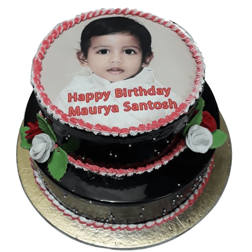 5 Kg Birthday Photo Cake