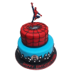 Spiderman Fondant Cake