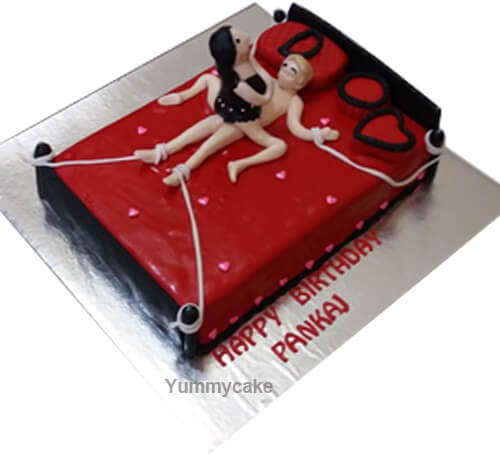 Prime Sexy Lady Cake For First Night Buy Online At A Low Price Personalised Birthday Cards Bromeletsinfo