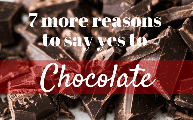 Health benefits of eating chocolates