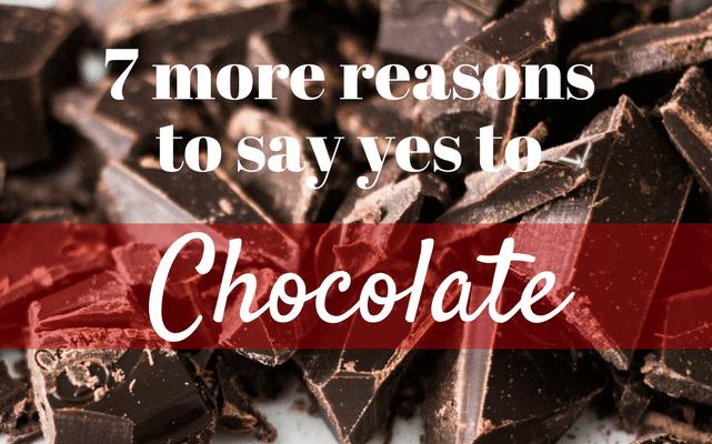 Health benefits of eating chocolates