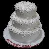 Silver Jubilee Cake