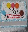 sweet birthday cake