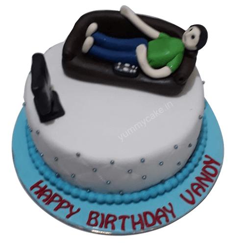 Happy Birthday Brother Cake Design Faridabadcake