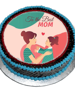 Sweet and Elegant Mothers day cake