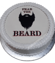Bearded Man Cakes