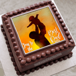 Fathers Day Chocolate Photo Cakes