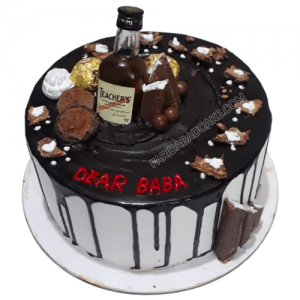 Teachers Scotch Whisky Cake