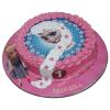 elsa and anna cake